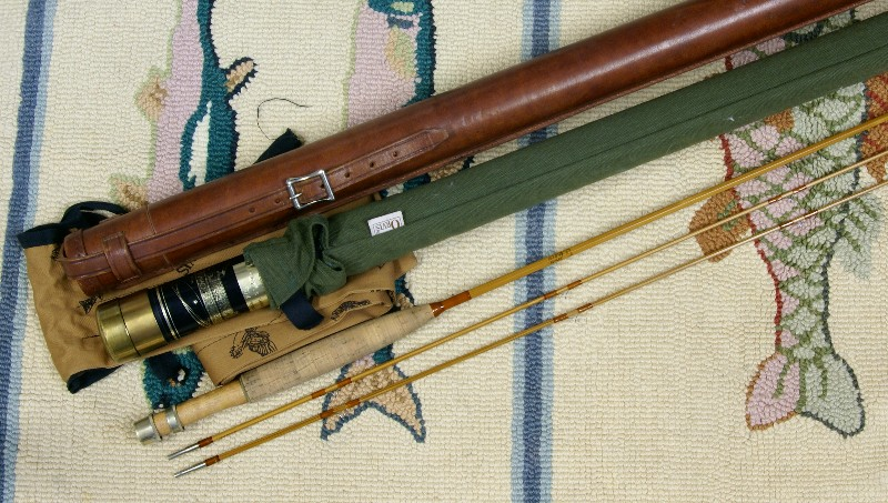 Orvis Cane Rod, J.D. Wagner, Agent