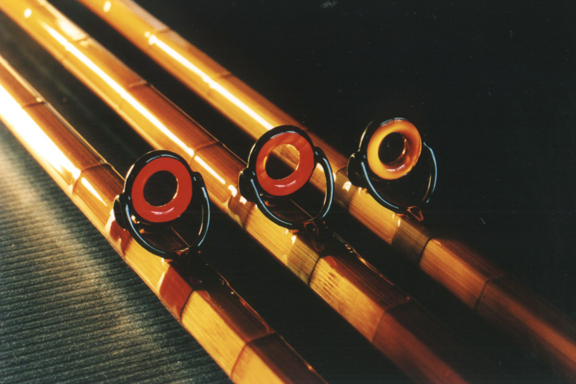 Agate stripping guides-J.D. Wagner Rods