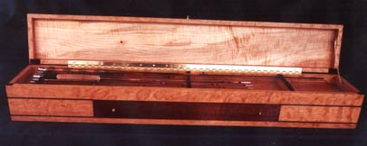 Box for J.D. Wagner Presentation Rods
