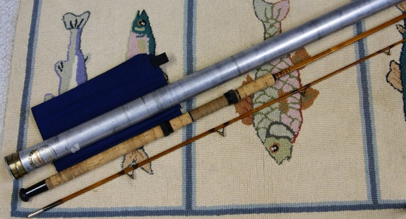 Edwards Saltwater Spinning Rod~ J.D. Wagner, Agent