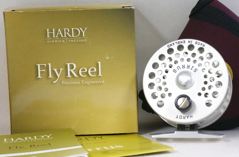 Hardy Sirrus reel, J.D. Wagner, Agent