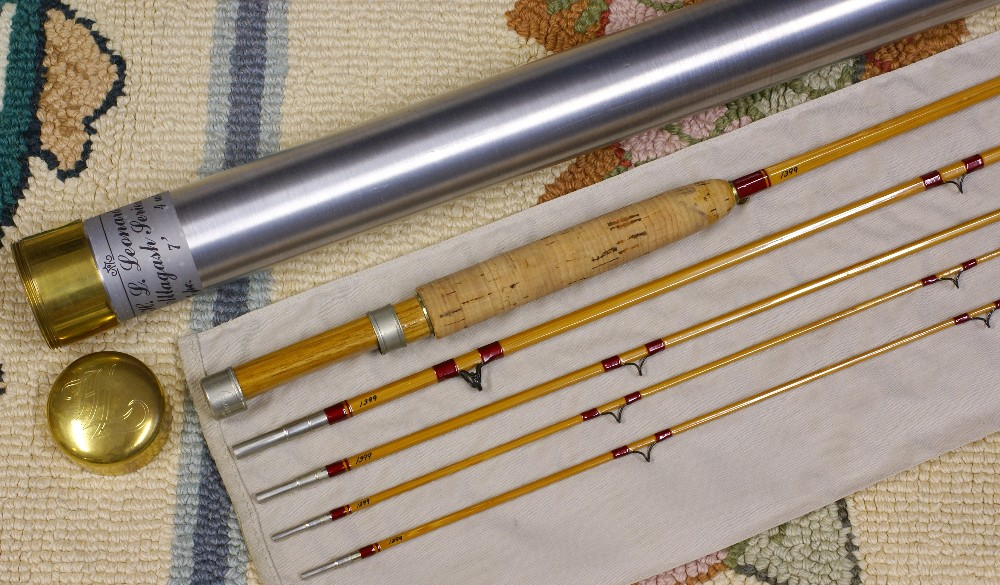 Vintage Bamboo Rods and Collectible Fly Fishing Tackle