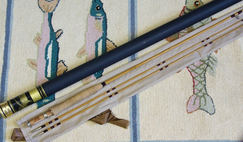 Vintage Orvis Adirondack Bamboo Rod, J. D. Wagner, Agent