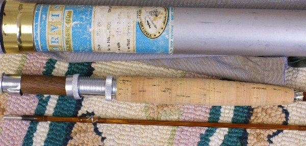 Vintage Orvis Bamboo Rods, J.D. Wagner, Agent