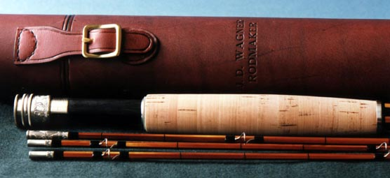 Rod with bag and Arne Mason case