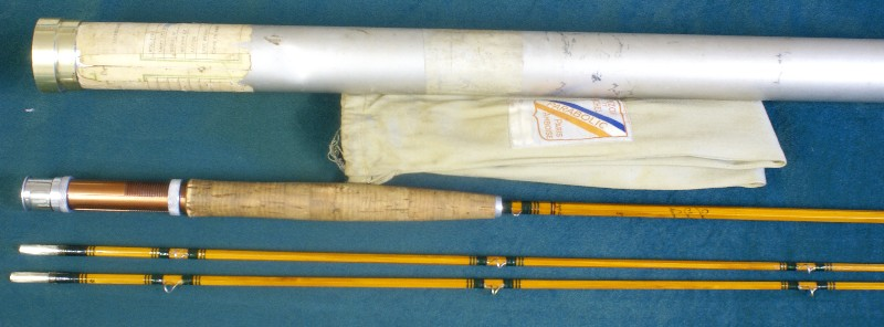Vintage Pezon Bamboo Rod, J.D. Wagner, Agent