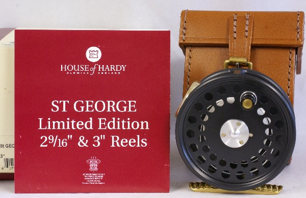 Vintage Hardy St George reissue, J.D. Wagner, Agent