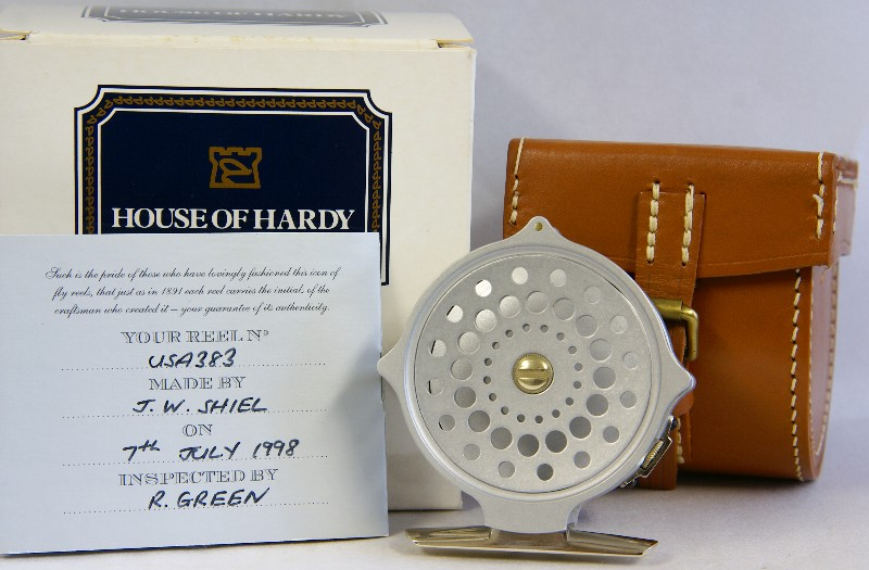 Hardy Limited Edition Bougle' Reel ~ J.D.Wagner, Agent