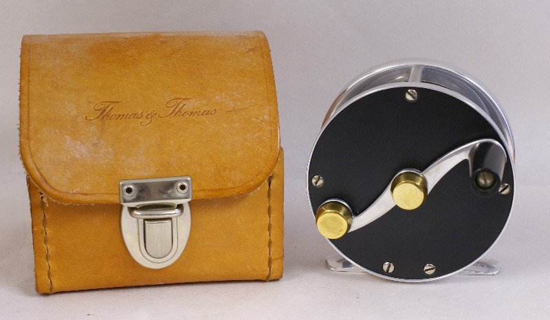 Vintage Thomas and Thomas Fly Reel, J.D. Wagner, Agent