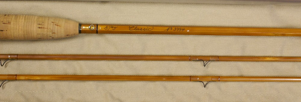 Vintage Thomas and Thomas Classic Fly Rod, J.D. Wagner, Agent