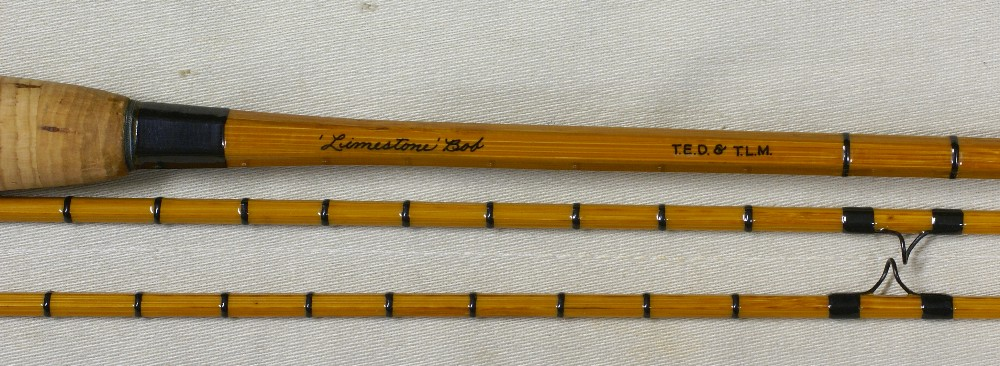 Vintage bamboo rods and collectible fly fishing tackle for Vintage fishing rod identification