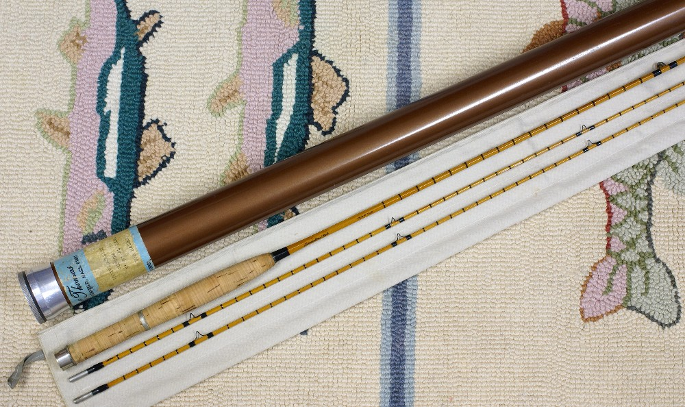 Vintage Thomas and Thomas Fly Rod, J.D. Wagner, Agent