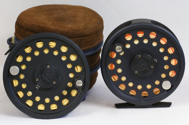Vintage Thomas and Thomas Ross Fly Reel, J.D. Wagner, Agent