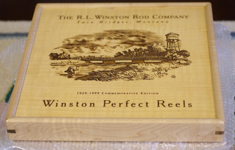 Winston Perfect Boxed Anniversary Set Reels, J.D. Wagner, Agent
